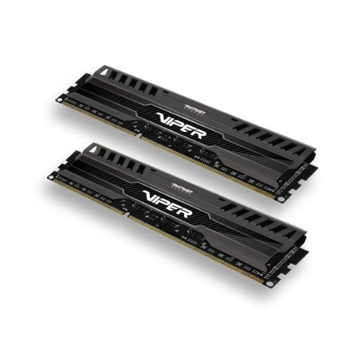 Patriot Viper 3 Series, Black Mamba, DDR3 8GB (2 x 4GB) 1600MHz Dual Channel Kit - 3000 Gs Quad