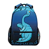 School College Backpack Rucksack Travel Bookbag Outdoor Dinosaur Supersaurus