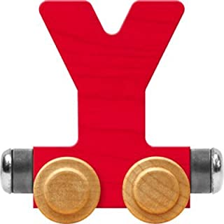 product image for Maple Landmark NameTrain Bright Letter Car Y - Made in USA (Red)