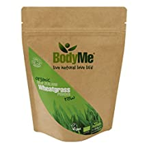 BodyMe Organic New Zealand Wheatgrass Powder | 250 g | Soil Association Certified