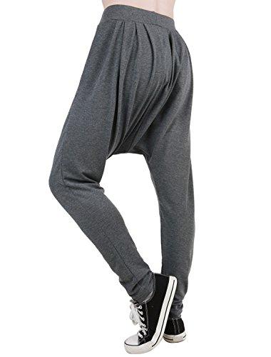 K Bouffant Hop Grigio Pantaloni di Eccrx scuro dimensioni Comfort Hip Allegra sportivi grandi dRqdC6
