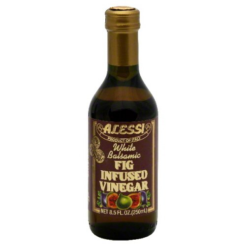 Alessi Fig Infused Balsamic Vinegar, 8.5 Ounce - 6 per case. by Alessi (Image #1)