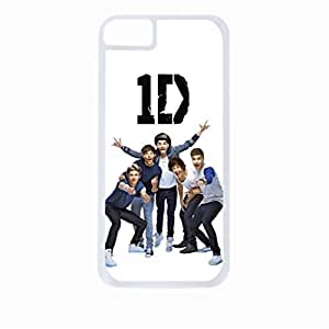 One direction - Funny Faces - Hard White Plastic Snap - On Case-Apple Iphone 6 Plus Only - Great Quality!
