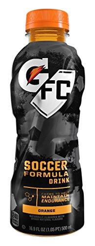 Gatorade Soccer Formula Orange Bottles product image