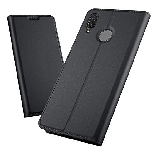 Nova Check Tote - Torubia Huawei Nova 3 Wallet Multi Card Holder Backcase Replacement Folio PU Leather Cover with Replacement Case Replacement for Huawei Nova 3 - Black