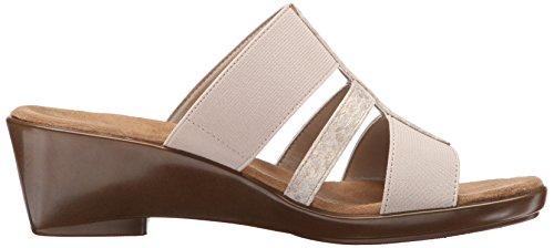 Aerosoles Flaunt Sintetico Sandalo con la Zeppa