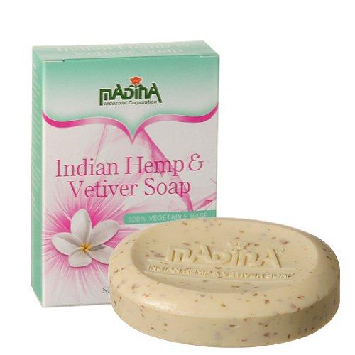Madina Bar Soaps (Indian Hemp & Vetiver)
