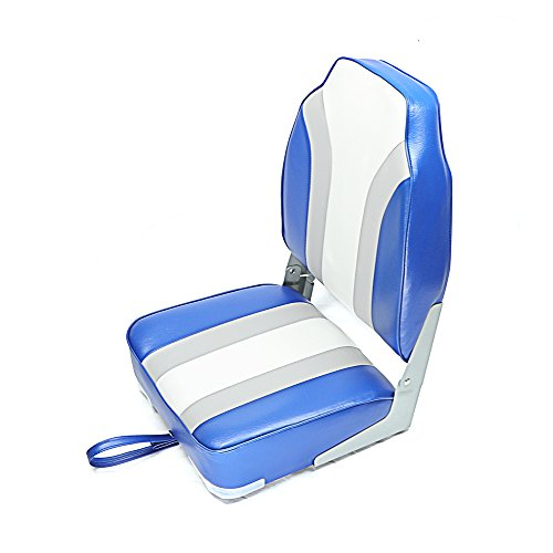 - Seamander High Back Boat seat (Blue/Grey)