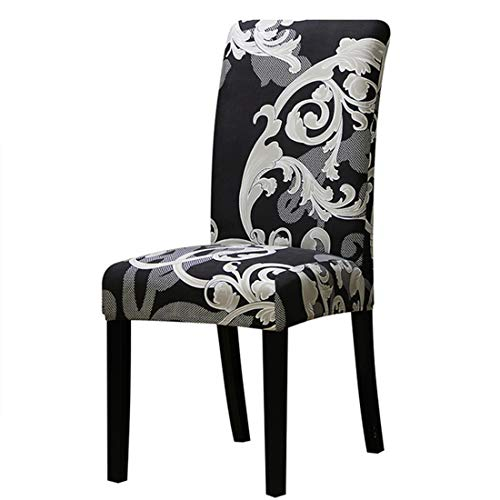 JONARO 2 PCS Printing Zebra Stretch Chair Cover Elastic Seat Chair Covers Painting Restaurant Banquet Hotel Home Decoration Multipattern