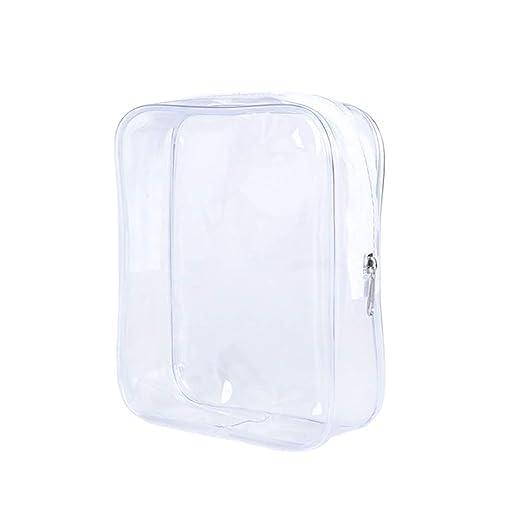 Wimagic - Bolsa de plástico Transparente de Viaje Bolsa de ...