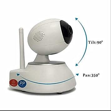 Cámara IP 720P doméstica Vigilancia App control alarma ...