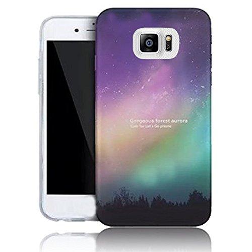 Vandot Funda PC Dura Bumper Case Cover Carcasa para Samsung Galaxy S7 Edge 3D Brillante Bling Cubierta Trasera Mate de Lujo Tapa Caja Teléfono Móvil Carcasa Protectora para Samsung Galaxy S7 Edge G935 Design 10