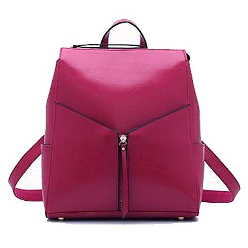 Main Shopping Simple Coréen Sac Pour Couleur Mode Dos AJLBT Polyvalent à Rosered Voyager à Sac Femme Sac 4vPCW4qwO