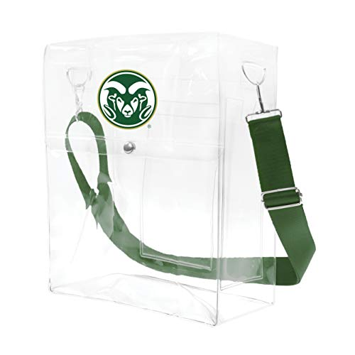 Littlearth NCAA Colorado State Rams Clear Ticket Satchel ()