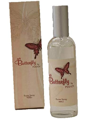 Peradi butterfly scented perfume room spray
