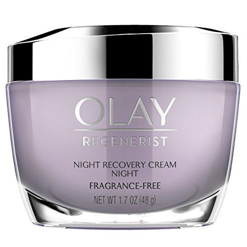 Night Cream by Olay, Regenerist Night Recovery Anti-Aging Face Moisturizer 1.7 oz