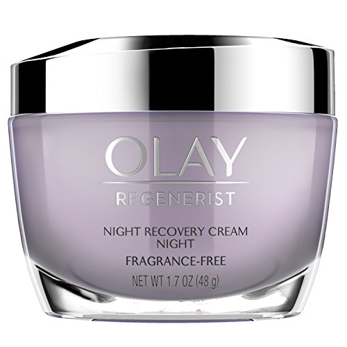 Night Cream by Olay, Regenerist Night Recovery Anti-Aging Face Moisturizer 1.7 - Anti Night Wrinkle Cream Anti Aging