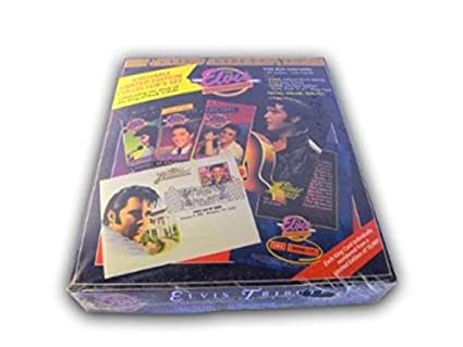 Amazoncom The Elvis Tribute Set Collection Trading Cards Box 20
