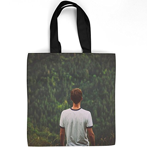 - Westlake Art - Male Plant - Tote Bag - Picture Photography Shopping Gym Work - 16x16 Inch (D41D8)