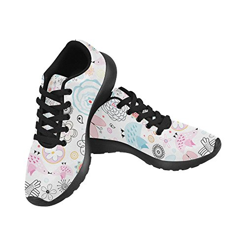 Interestprint Femmes Jogging Running Sneaker Léger Aller Facile Confort De Marche Sport Athletic Chaussures Multi 5