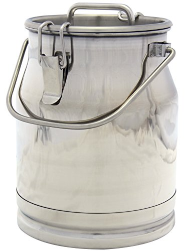 Stainless Steel Milk Can, Heavy Duty with Strong, Sealed for sale  Delivered anywhere in USA