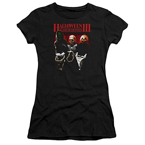 O Slasher Tee Película Tratar Sheer Truco Horror Camiseta Juniors Iii Halloween qpX4w