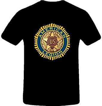 American legion best quality custom tshirt 2xl black for Amazon custom t shirts