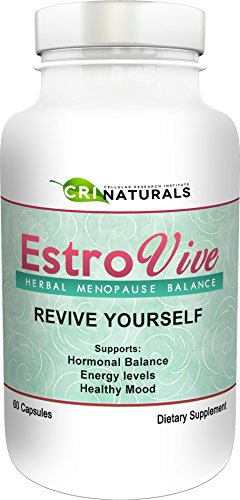 Estrovive - Hot Flashes Menopause Relief - Black Cohosh Menopause Complex - Sleeping Pills - Hot Flash Relief 3 - Pack by CRI Naturals (Image #7)