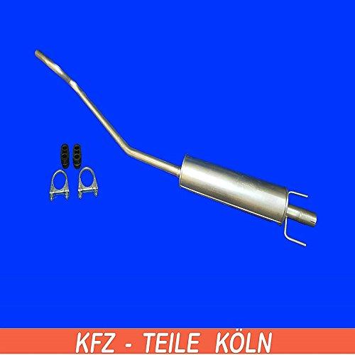 Mittelschalld/ämpfer Mitteltopf Auspuffanlage KS1BF6ASE