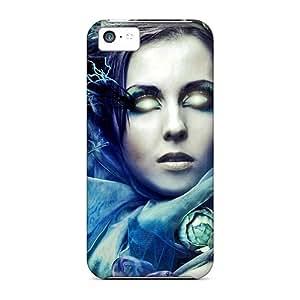 Durable Defender Case For Iphone 5c Tpu Cover(inner Light) wangjiang maoyi