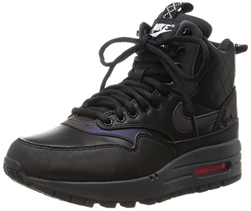 Nike WMNS Air Max 1 Mid Sneakerboot Reflect Women Lifestyle Winter Sneakers New Black - 7