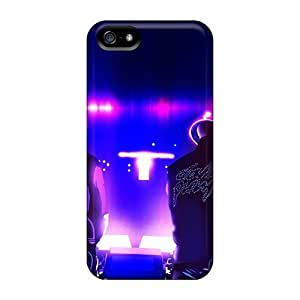 Protective Tpu Case With Fashion Design For Iphone 5/5s (daft Punk)