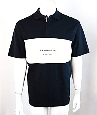 Línea 7 para hombre Nueva Zelanda Polo de manga corta camiseta de ...