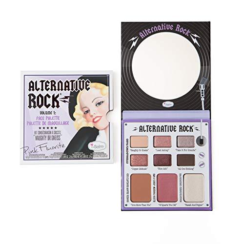 Alternative Rock Vol. 1 Face Palette, Blush, Shadow, Bronzer, Highlighter, Multi-Function, Easily Blendable - Multifunction Highlighter
