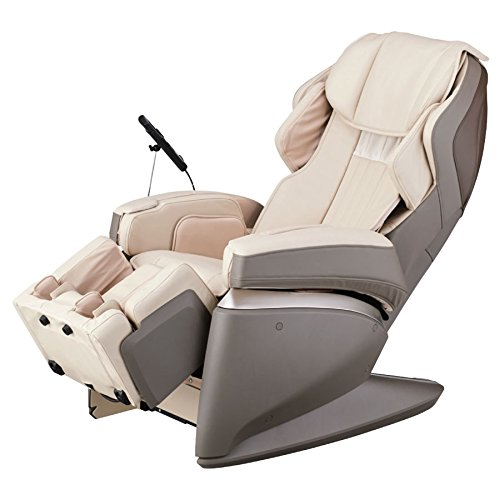 Osaki OSJPPROPREMIUM4SD Model Osaki-JP Premium 4S Japan Massage Chair, Cream, Superior 4D Massage Technology/Computer Body Scan, 12 Stages of Strength Adjustment, Heated Backrest & Feet, Auto Recline