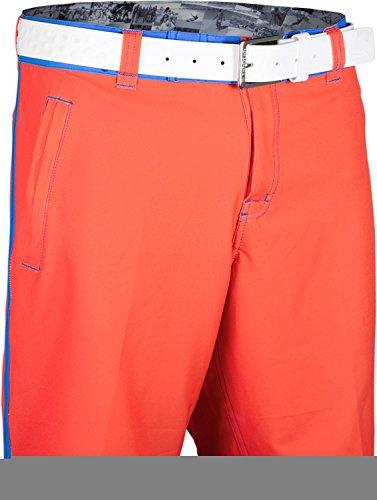 TSHOTSH Herren Badeshort, Einfarbig Gr. X-Small, Orange