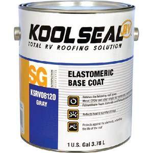 Geocel Corporation KSRV0812016 RV Elastomeric Gray Base Coat/primer (Kool Seal)