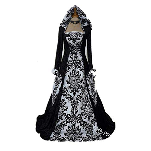 Smart.A Halloween Costume Wicca Witch Medieval Dress