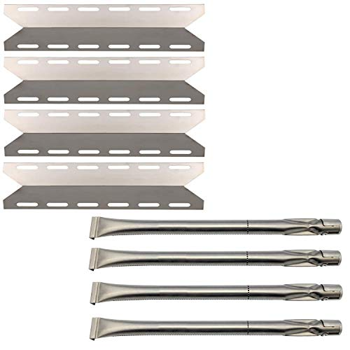 Charmglow Gas Grill - Htanch SN2341(4-Pack) SA0361 (4-Pack) Replacement for Charmglow 720-0234,Nexgrill 720-0033, 720-0234, 720-0289 and Others Gas Grill Models Burner and Heat Plate
