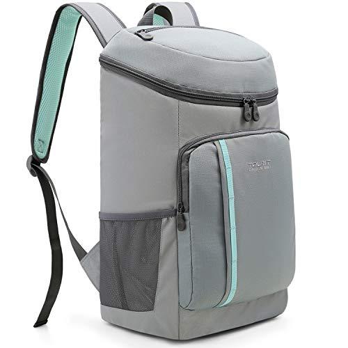 TOURIT Cooler Backpack 30 Cans Lightweight Insulated Backpack Cooler Leak-Proof Soft Cooler Bag Large Capacity for Men Women to Picnics