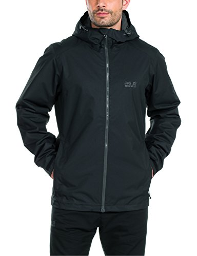 Jack Wolfskin Men's Chilly Morning Jacket, XX-Large, Black by Jack Wolfskin