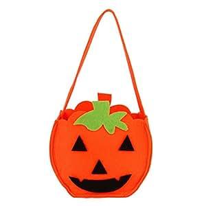 Memela(TM)Halloween Leaf Style Candy Bag Gift Bag Bagkin Bag