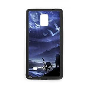 Samsung Galaxy Note 4 phone case Black Disney The Lion King Character Rafiki FFFP2655210