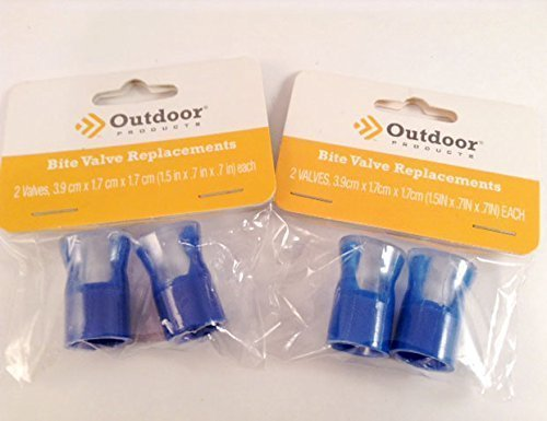 Outdoor Products Cyclone Bladder Replacement Bite Valve Pack of 4