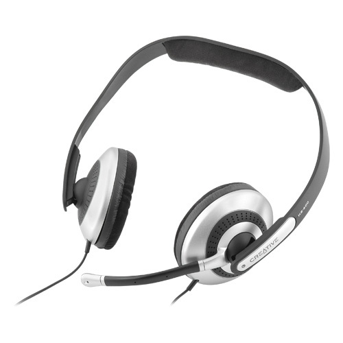 Creative HS-600 Headset with Noise Cancelling Microphone by Creative Labs