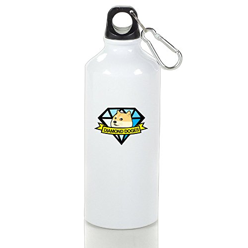 Guizhen Diamond Doges Aluminum Vogue Sport Water Bottle 500ml