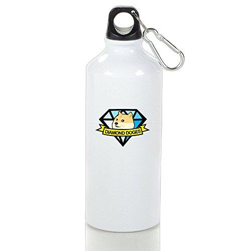 Guizhen Diamond Doges Aluminum Vogue Sport Water Bottle (Halloween Quiz Print Off)