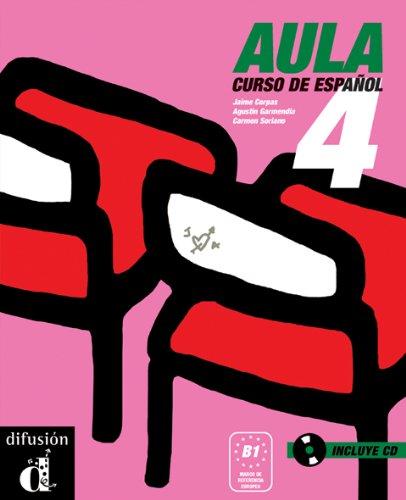 Aula 4. Libro del alumno + CD (Spanish Edition)