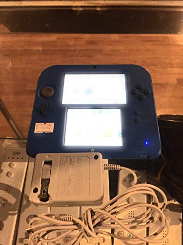 Nintendo 2DS 2 Items Bundle:Nintendo 2DS-Electric Blue 2 w/Mario Kart 7 Console and USB Sync Charge USB Cable (Nintendo Dsi Xl New Super Mario Bros 2)