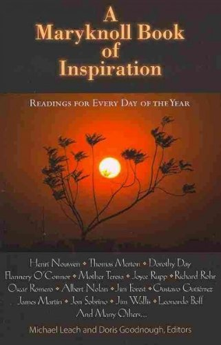 A Maryknoll Book of Inspiration: Spiritual Readings for Every day of the Year ebook